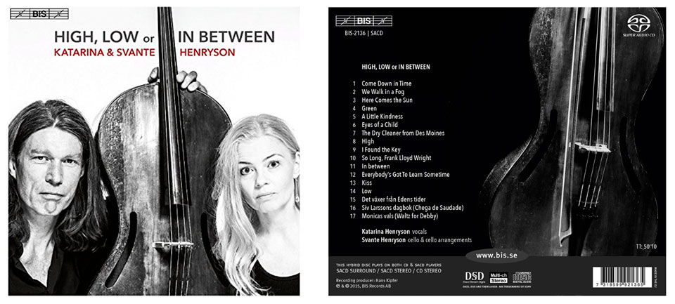high, low or in between katarina henryson musik cd