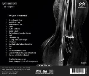 high low or in between katarina henryson musik cd baksida